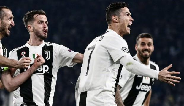 Ronaldo şov yaptı, Juve zoru başardı