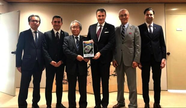 Fikret Orman'dan Japonya'da ziyaret