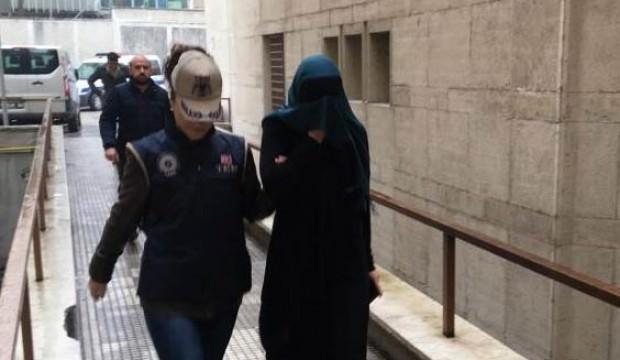 Bursa'da yakalanan DEAŞ'lı kadın terörist Interpol'e teslim edildi