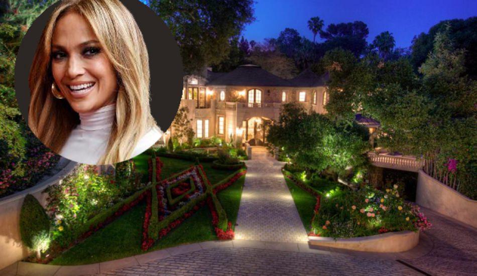 Jennifer Lopez'in 28 Milyon Dolarlık malikanesi!