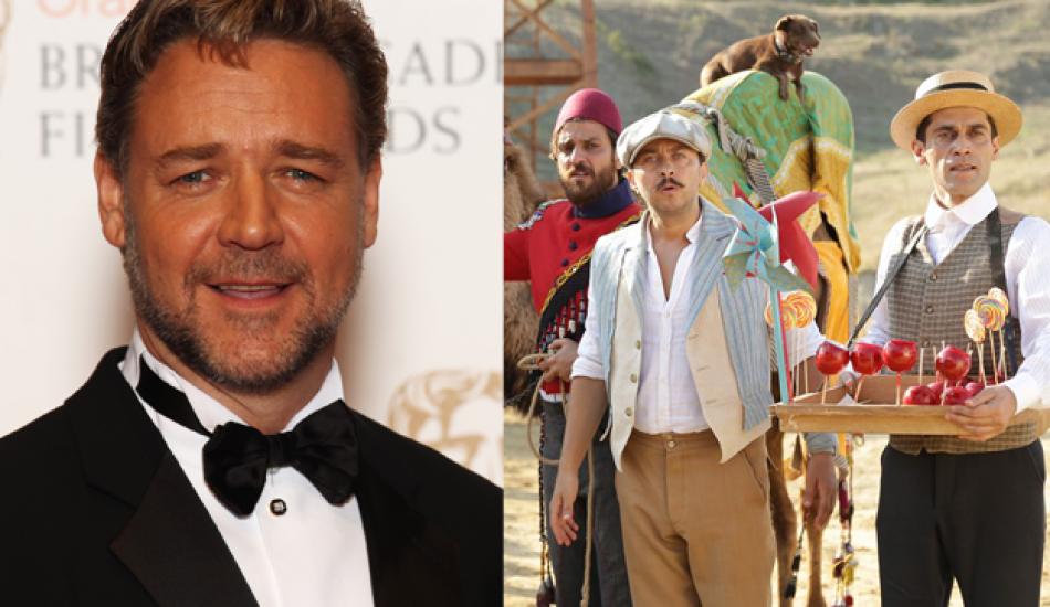 'Türk işi dondurma'ya Russell Crowe destek verdi!