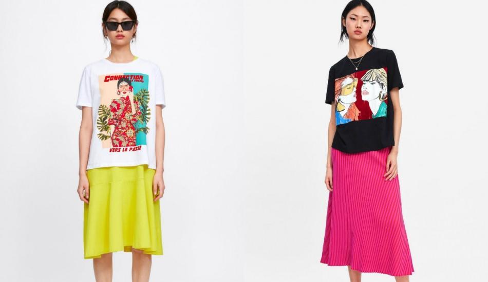 2019 bahar  t-shirt modelleri
