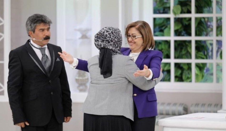 Gaziantep adayı Fatma Şahin'den Esra Erol'un programında büyük adım