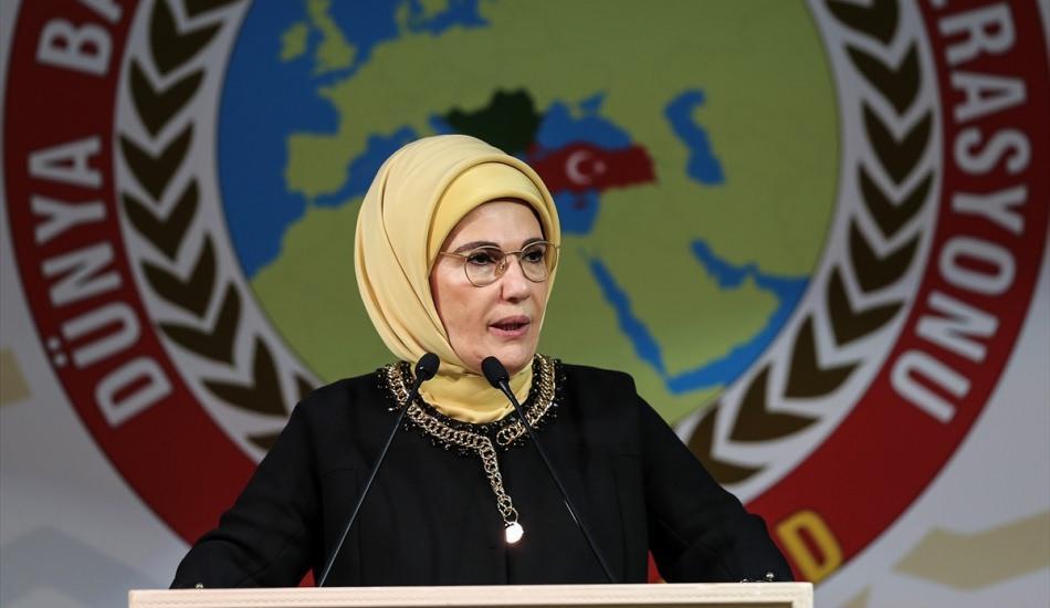 Emine Erdoğan Balkan ve Rumeli Kadınları ile buluştu