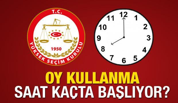 Oy kullanma işlemi akşam saat kaça kadar devam edecek? YSK il il oy saatleri..