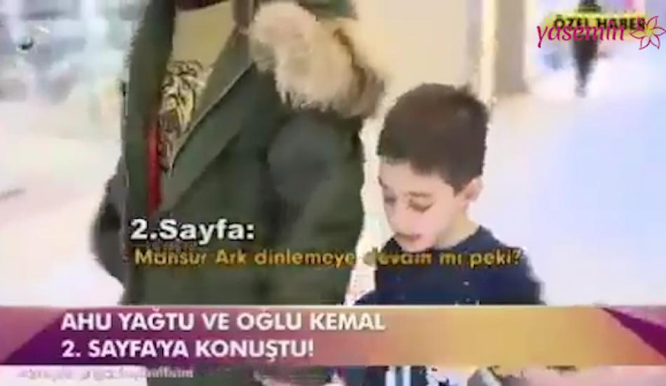 Cem Yılmaz'ın 6 yaşındaki oğlundan güldüren röportaj
