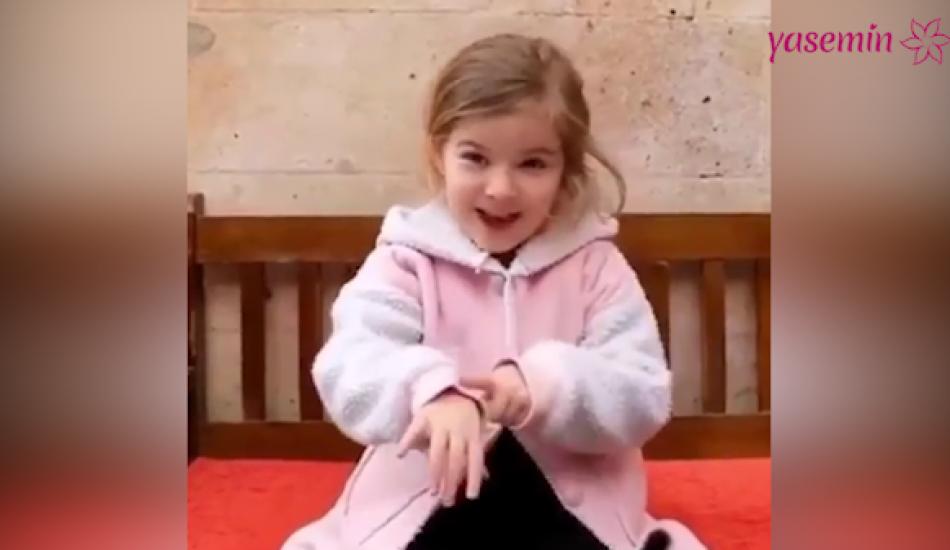 Hercai dizisinin küçük oyuncusu Ebrar Demirbilek'ten haber var!