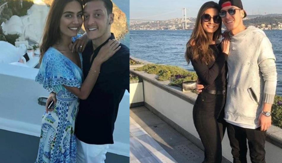 Mesut Özil ve Amine Gülşe'den yeni fotoğraflar