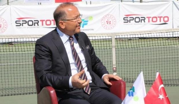 'Türkiye'de tenisi herkesin sporu yaptık'