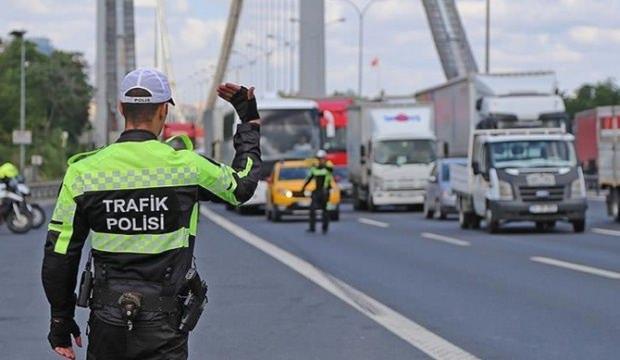 4 milyar lira trafik cezası kesildi