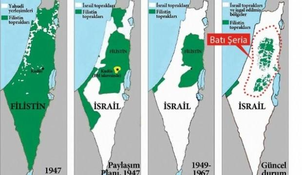 Filistin'i haritadan silmeye çalışıyorlar