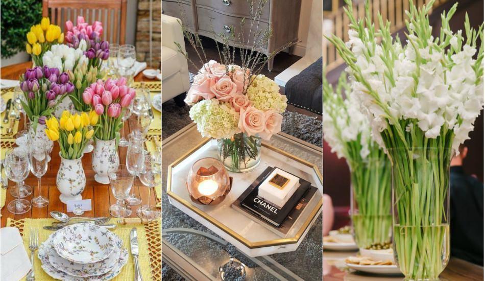 Ev dekorasyonunda yaz çiçekleri modası
