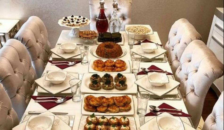 İftar masaları için özel sunum önerileri