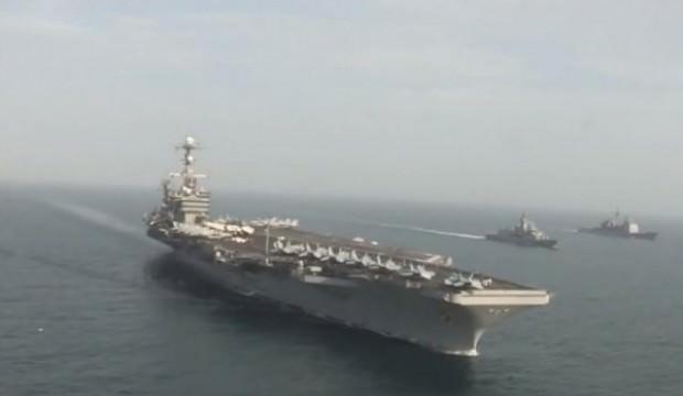 ABD'nin savaş gemileri Akdeniz'e indi: Savaşmaktan çekinmeyiz