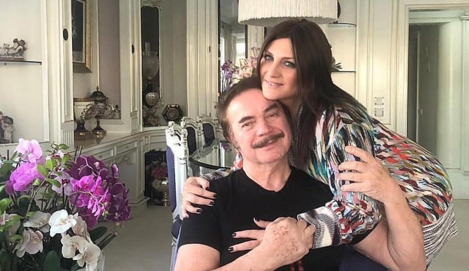Sibel Can'dan Orhan Gencebay'a ziyaret