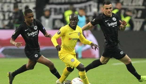 Chelsea Almanya'da 1-1'e razı oldu