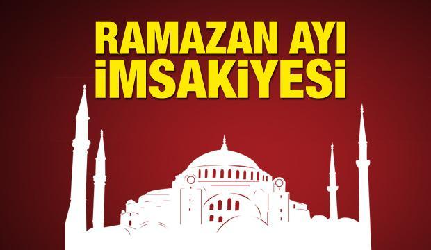 Ramazan ayı imsakiyesi! Diyanet İşleri Başkanlığı tarafından açıkladı!