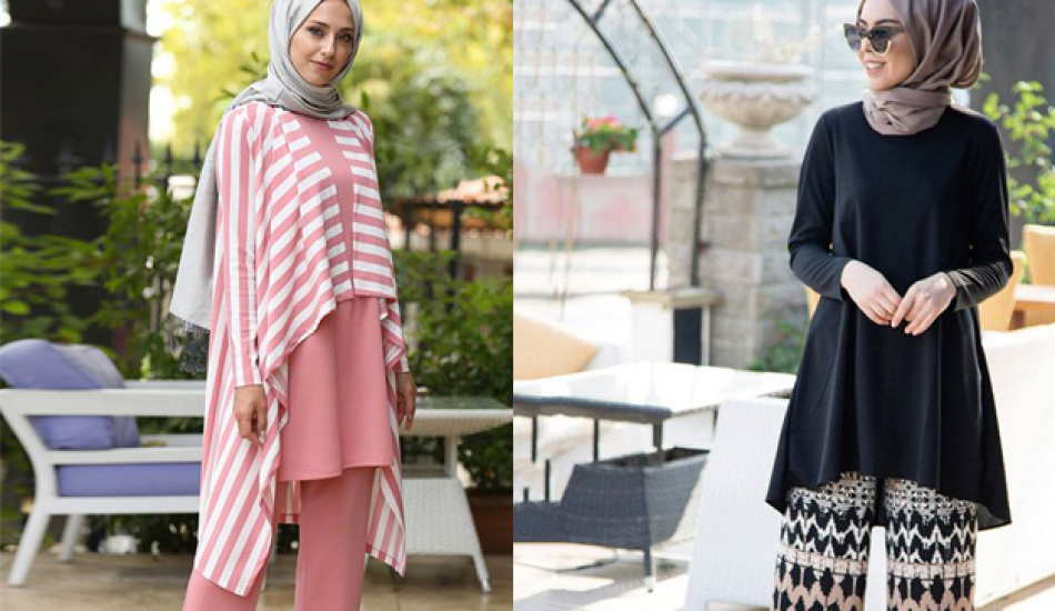 2019 ilkbahar yaz sezonu tunik-pantolon modası
