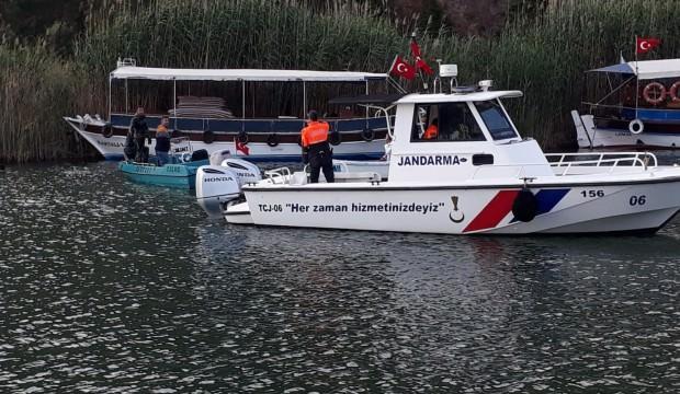 Dalyan Kanalı'na giren genç boğuldu
