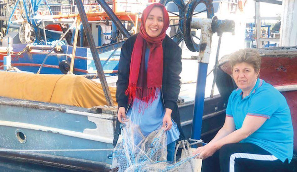 Türkiye'deki ilk ve tek kadın balıkçı: Necla reis!