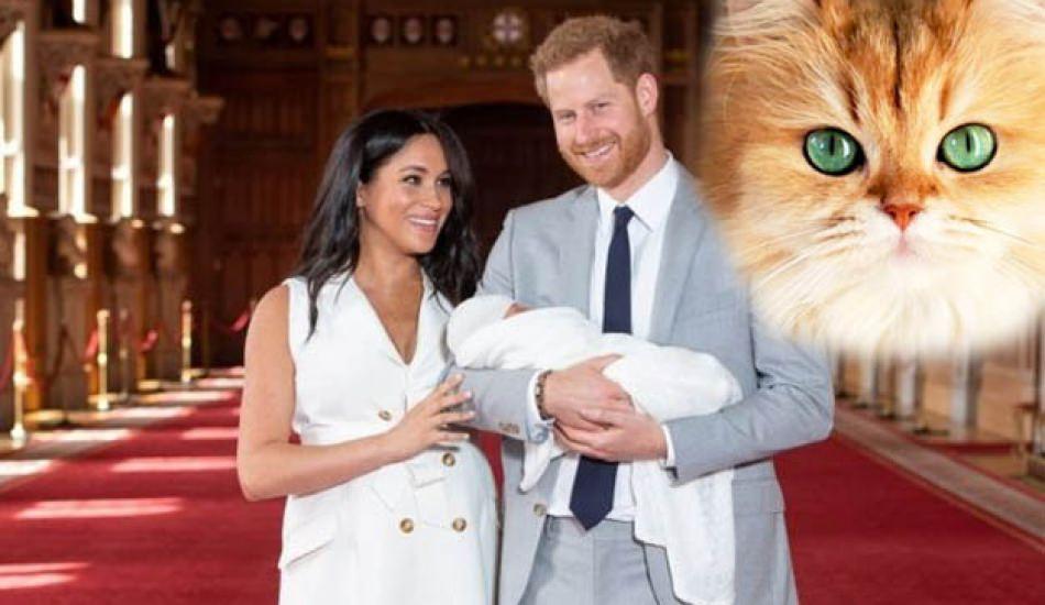 Meghan Markle bebeğine kedisinin ismini verdi! Gündem oldu!