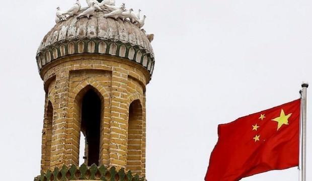 Uydudan tespit edildi! Çin camileri yıkıyor