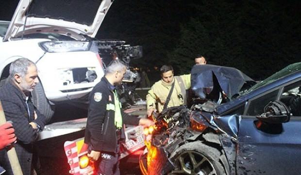 Cip ile otomobil kafa kafaya çarpıştı: Yaralılar var