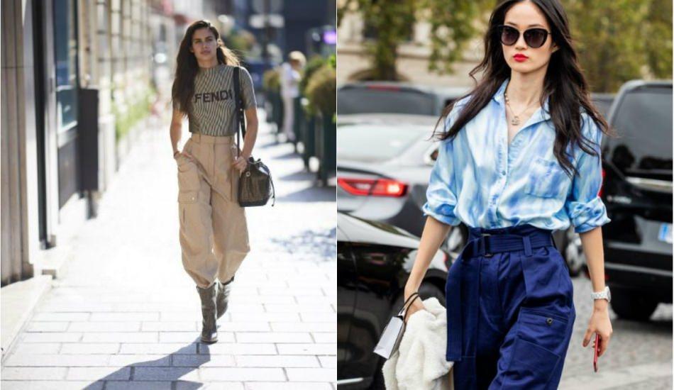 Sezonun modası kargo pantolonlar