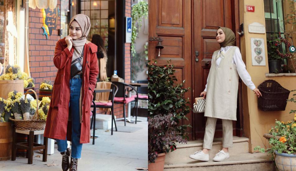 Sezonun modası keten ceketler