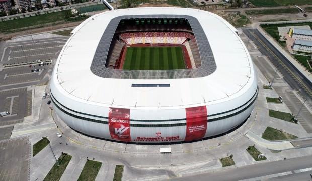 Sivas'ta Türkiye Kupası heyecanı