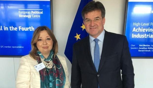 Gülnur Aybet'ten AB ve NATO'da önemli görüşmeler