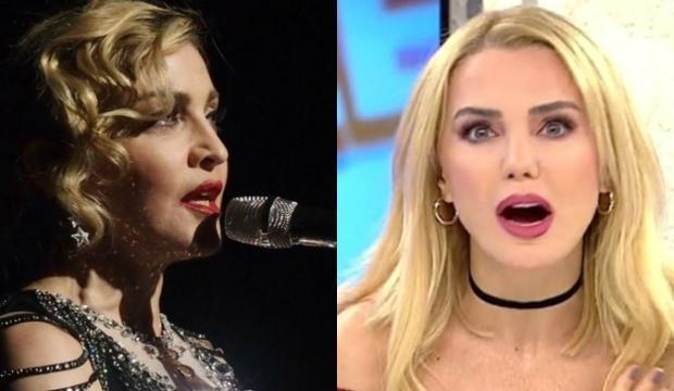 Ece Erken Madonna gafıyla sosyal medyanın diline düştü