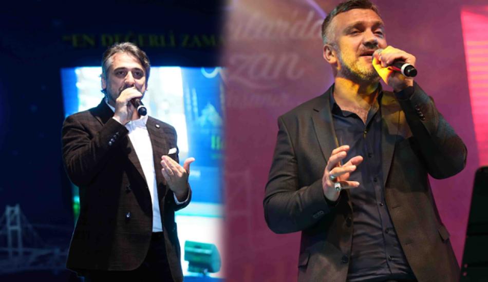 Boşnak şarkıcı Zeyd Şoto ve Eşref Ziya Terzi konser verdi!