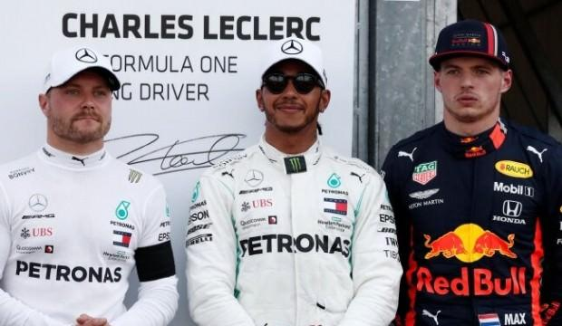 Monaco'da pole poziyonu Hamilton'ın