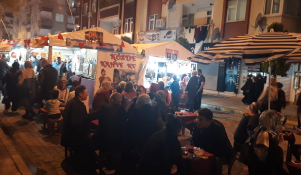'Ramazan Sokağı' etkinliğine vatandaşlardan yoğun ilgi