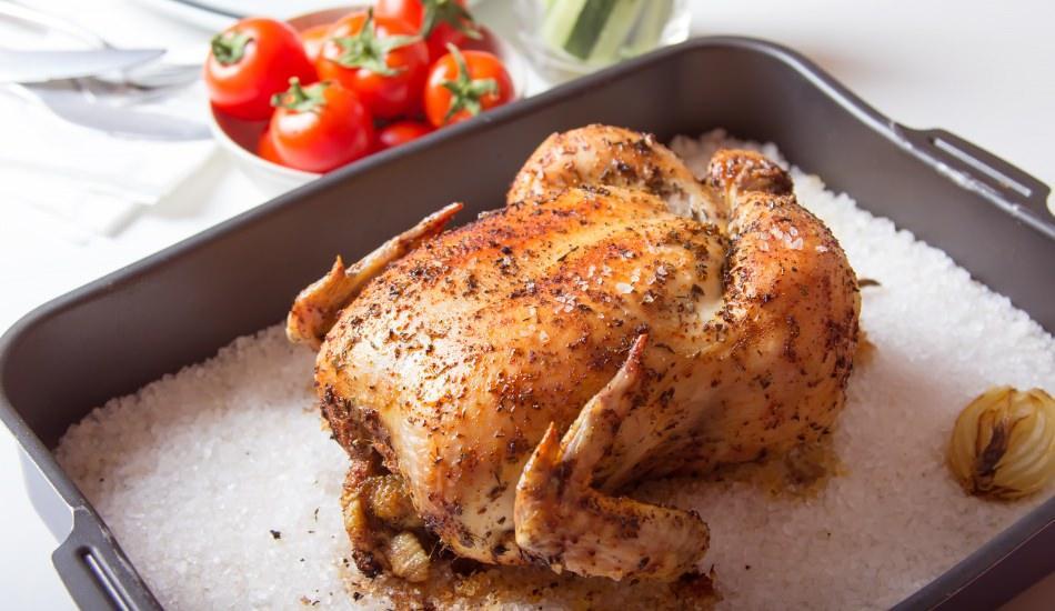 Tuzda tavuk nasıl pişirilir? En kolay ve lezzetli tuzda tavuk tarifi