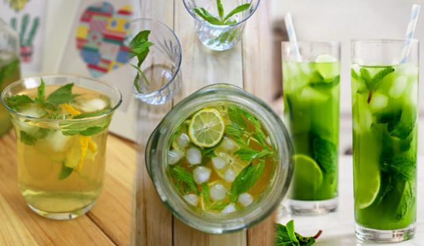 Kilo verdiren buzlu yeşil çay nasıl yapılır? Soğuk yeşil çay tarifi