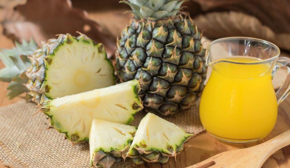 Ananas ve ananas suyunun faydaları nelerdir? Düzenli bir bardak ananas suyu içerseniz...