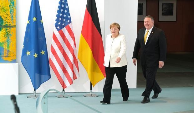 Merkel, Pompeo ile görüştü