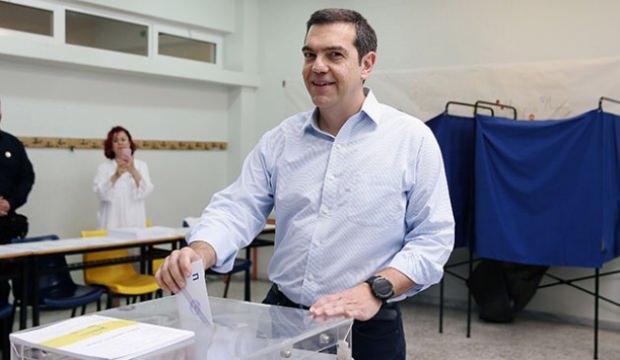 Yunanistan'da yerel seçimler için sandık başında