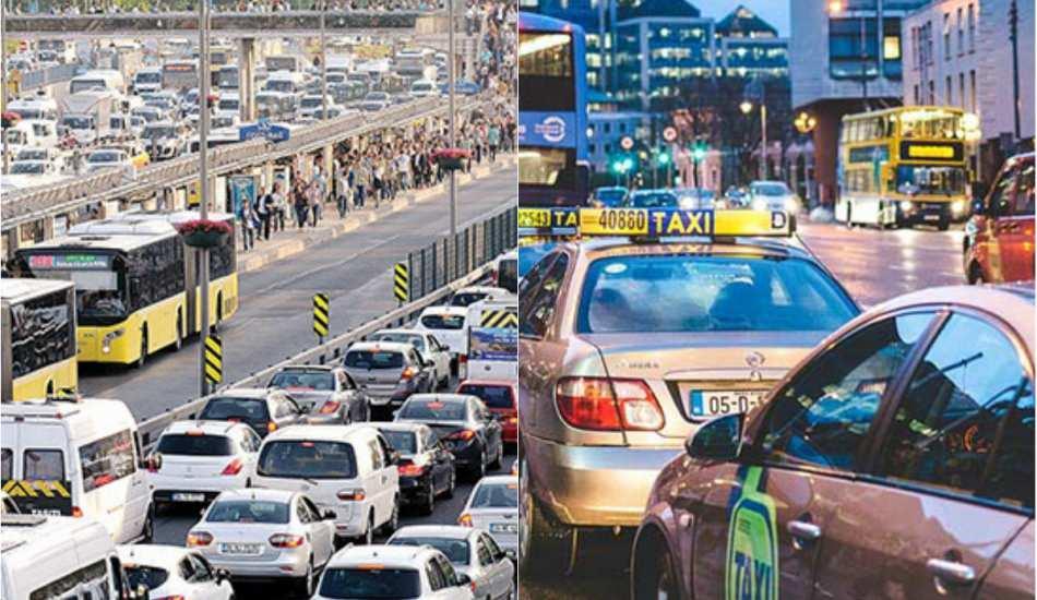 Dünyada en çok trafik olan şehirler