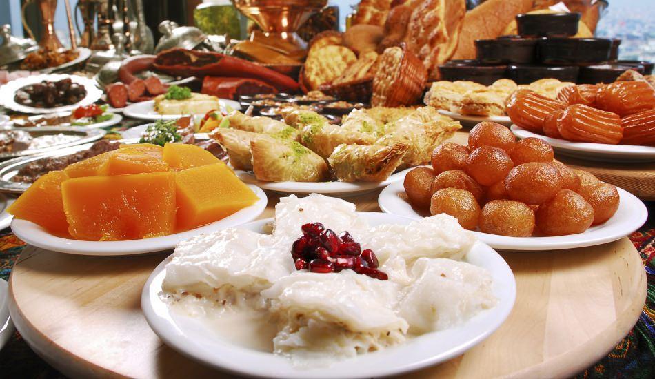 Bayram sofralarının kalori hesaplama cetveli