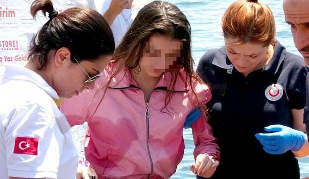 Genç kız ölümden döndü! Çarşı iznine çıkan asker kurtardı...