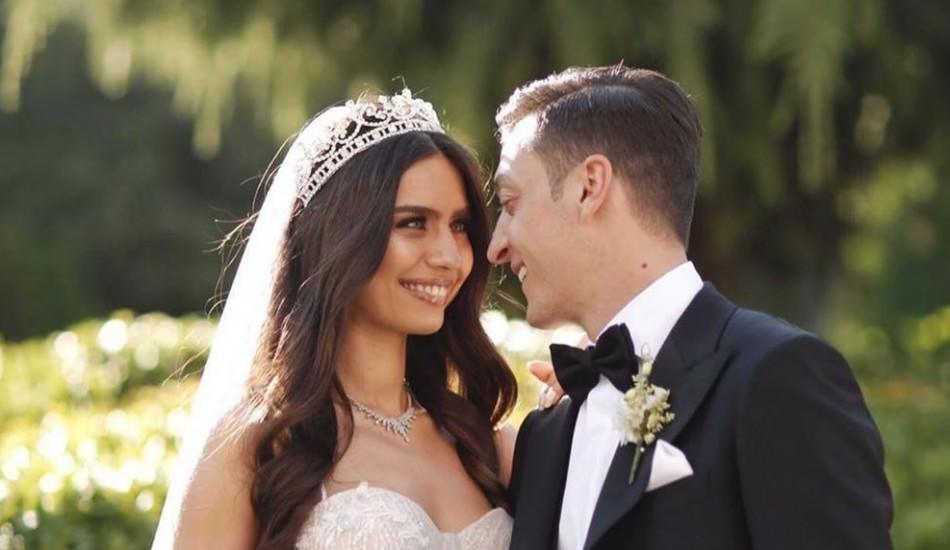 Yılın düğünü bitti! Amine Gülşe değişti...