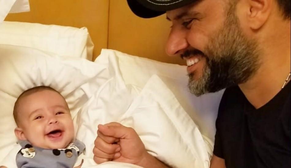 Alişan'dan oğlu Burak ile Instagram paylaşımı