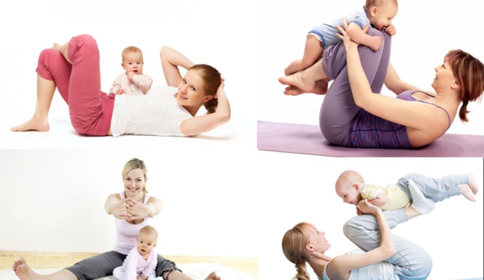 Doğum sonrası karın sıkılaştırma egzersizleri! Doğum sonrası göbek nasıl gider?