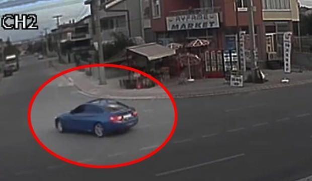 'Drift' yapan sürücüye ibretlik ceza