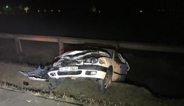 Konya'da iki otomobil çarpıştı: 5 yaralı