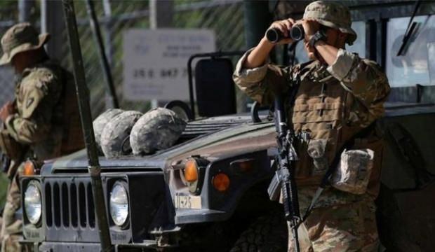 Meksika'da ulusal muhafız birlikleri sınırda göreve başladı!