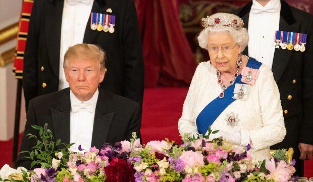 Trump: Kraliçe ile çok eğlendik!
